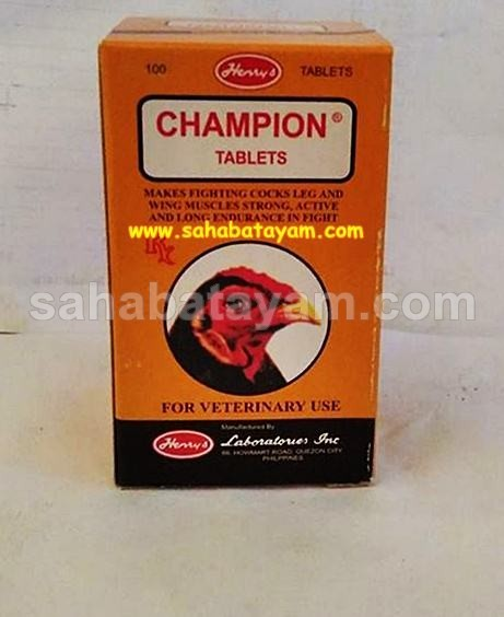 Doping Ayam Champion Tablets