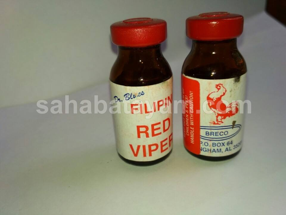 Doping Ayam Filipin Red Viper Filipino